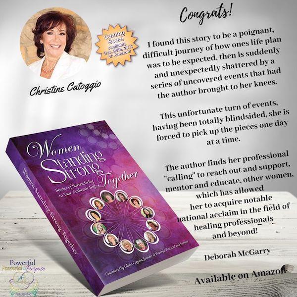 Women Standing Strong Christine Catoggio Book